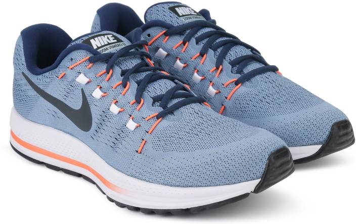 reputable site 1642d 7fbe5 Nike AIR ZOOM VOMERO 12 Running Shoe For Men (Blue)