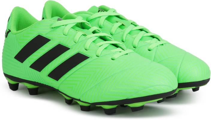 new arrivals e77c9 27c42 ADIDAS NEMEZIZ MESSI 18.4 FXG Football Shoes For Men (Green)