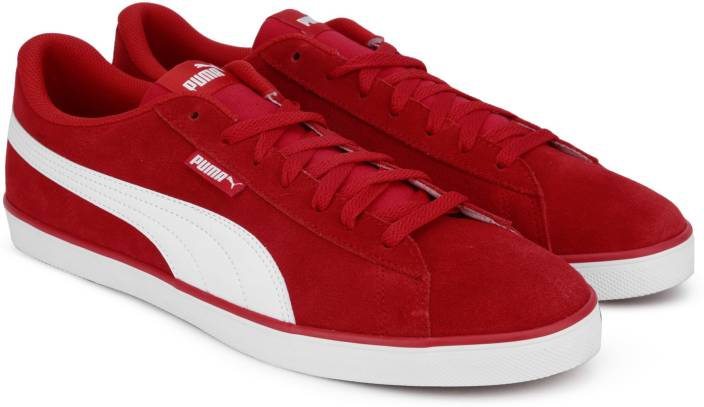 9ef0aa78e8a75b Puma Urban Plus SD Sneakers For Men - Buy High Risk Red-Puma White ...
