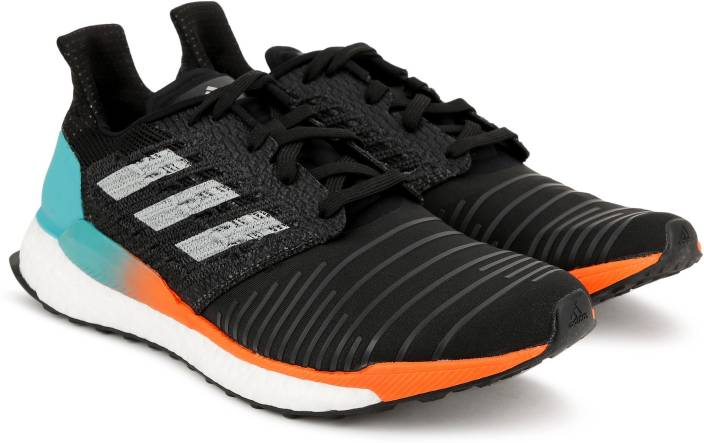 sports shoes 5babb faa63 ADIDAS SOLAR BOOST M Running Shoes For Men (Black)
