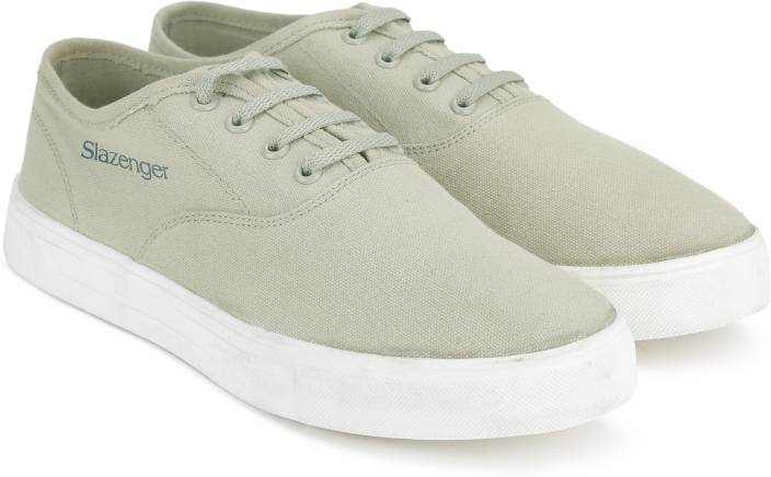 c4825f6b23514a Slazenger CLASSIC OX Canvas Shoes For Men - Buy GREY Color Slazenger ...