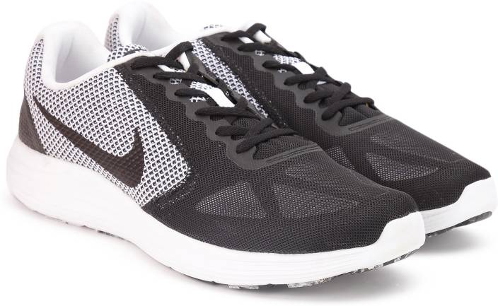 702415fa7e2 Nike REVOLUTION 3 Running Shoes For Men - Buy WHITE BLACK Color Nike ...