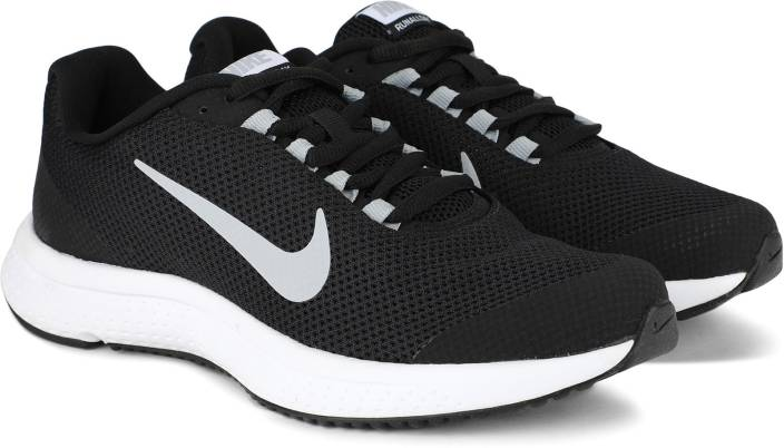 9cf8458311a Nike WMNS NIKE RUNALLDAY Running Shoes For Women - Buy BLACK WHITE ...