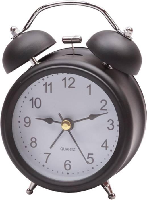 Anasa Analog Table Alarm Clock For Bedroom Clock