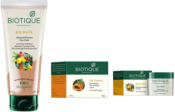 e5cf461d40 BIOTIQUE BIO White Advanced Fairness Face Wash