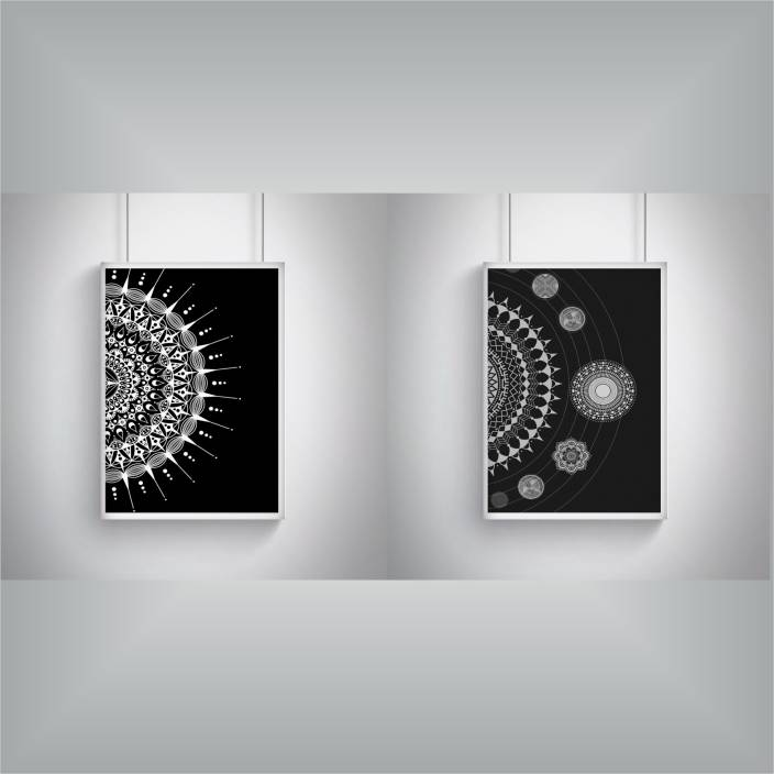 Movies/Music/TV Series combo posters - set of 2 (12 inches