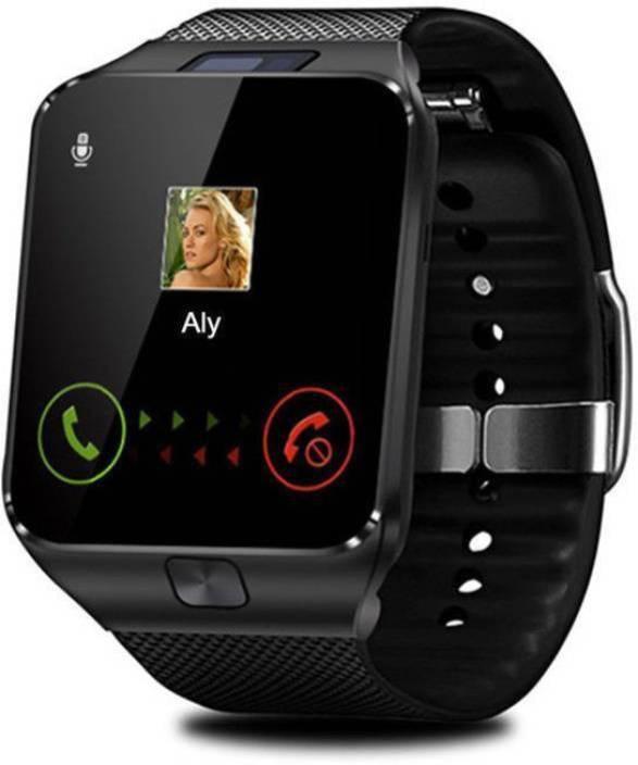 Amgen DZ09 Premium Smartwatch Black Black Smartwatch