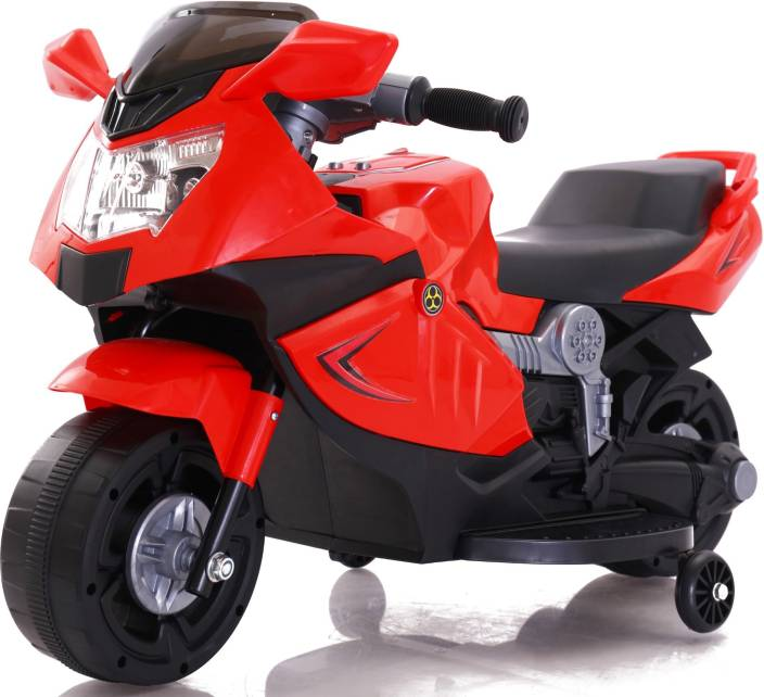 1359e640bf0 Toy House Mini Ninja Super Rechargeable for kids (1.5 to 3yrs) Bike Battery  Operated Ride On (Red)