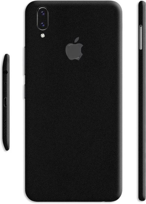 uk availability 00a98 1d523 Crystal Coat Black Matte Back & Side Skin/Sticker Vivo V9 Mobile Skin
