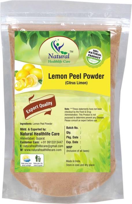 Natural Health Life Care 100% Natural Lemon Peel Powder (Citrus Limon)