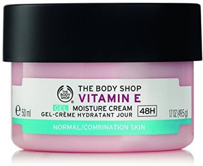 The Body Shop Vitamin E Gel Cream Hr Moisturizer Vegan