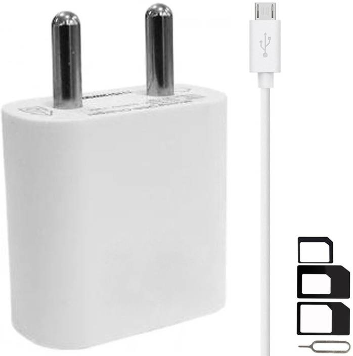 ShopsGoods Wall Charger Accessory Combo for Oppo F5, Oppo F5 Youth, Oppo  F3, Oppo A57, Oppo F1s, Oppo A83, Oppo A37, Oppo F3 Plus Charger With 1  Meter