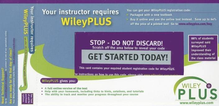 Wiley Plus Stand-Alone to Accompany Intermediate Accounting