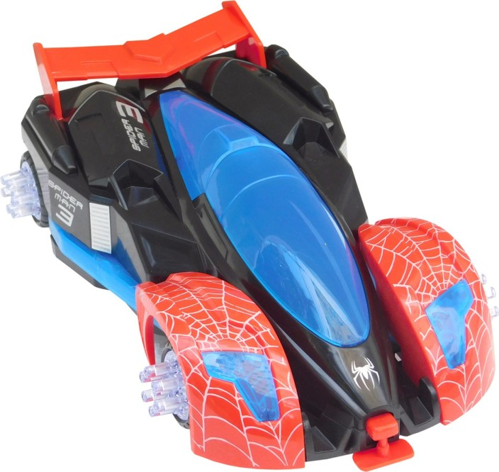 Brand New Style Battery-operated Spider-Man RC Track for kids years 4
