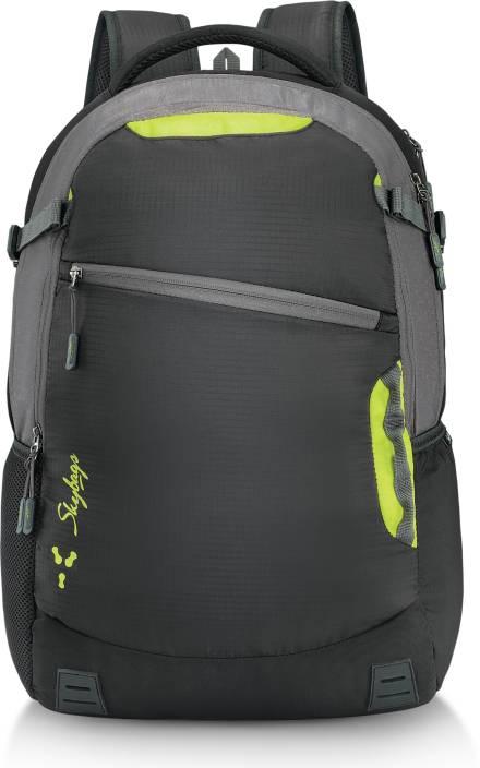 Skybags Teckie 04 Laptop Backpack Black 42 L Laptop Backpack Black ... ded53ed422869