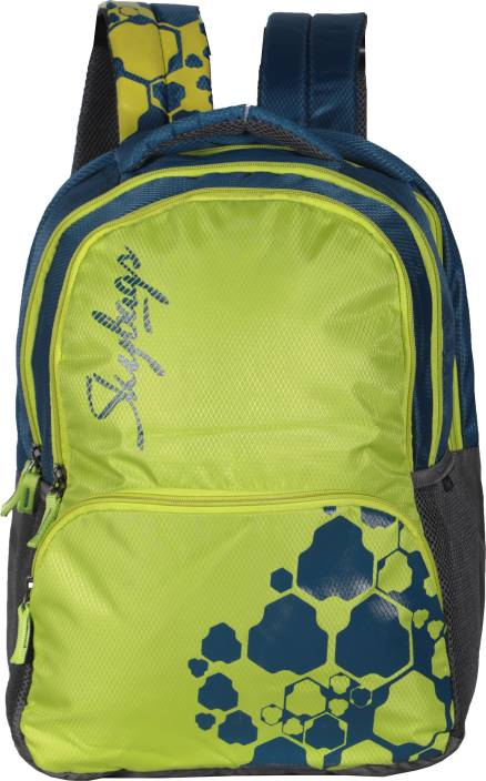 Skybags New Neon 3 Backapck (Lime Green) 19 L Backpack Green - Price ... 2f4e0a959