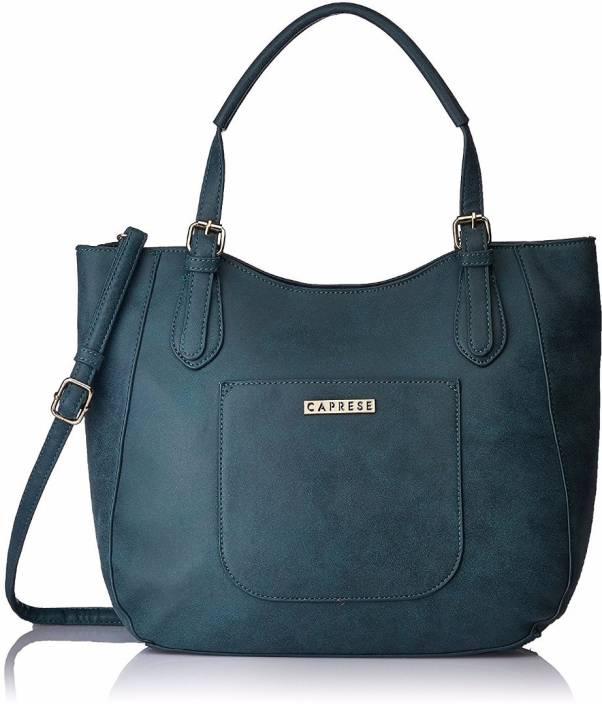 ba3888a0f5 Buy Caprese Satchel Teal Online @ Best Price in India | Flipkart.com