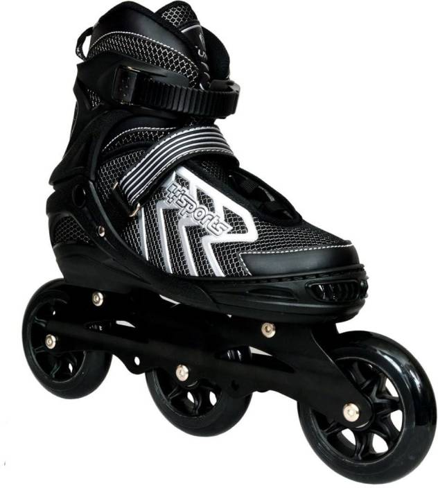 72b38867269f Credence Sports (Large) Adjustable Shoes In-line Skates - Size 6-8 UK  (Black)