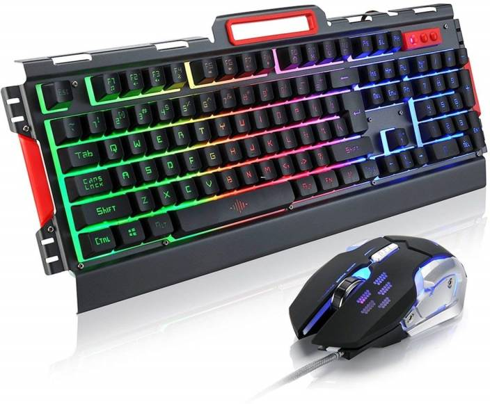 7c070624dbc ReTrack K33 Mechanical LED light 4000DPI Wired Gaming Mouse Keyboard Combo  Set Price in India - Buy ReTrack K33 Mechanical LED light 4000DPI Wired  Gaming ...