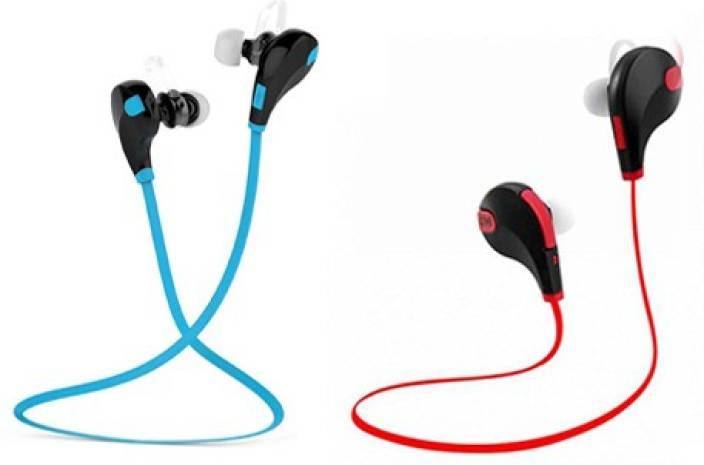e2dea8868e8 ZEVORA Bluetooth Wireless sports headphones with Mic