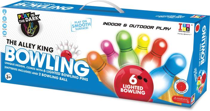 4101f1b9c026f5 itoys The Alley king light bowling set for kids/Sports toys for  kids/Includes