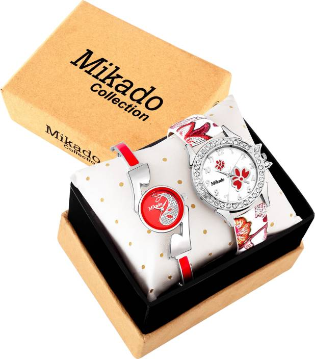 Mikado Juliet Fashion Lover Multicolor Analog watches Combo for Women And Girls Watch - For Girls