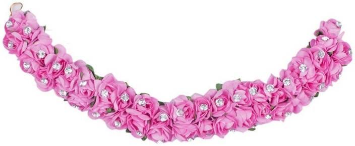 Inaaya Artificial Hair Flowers Hair Accessories For Women Wedding