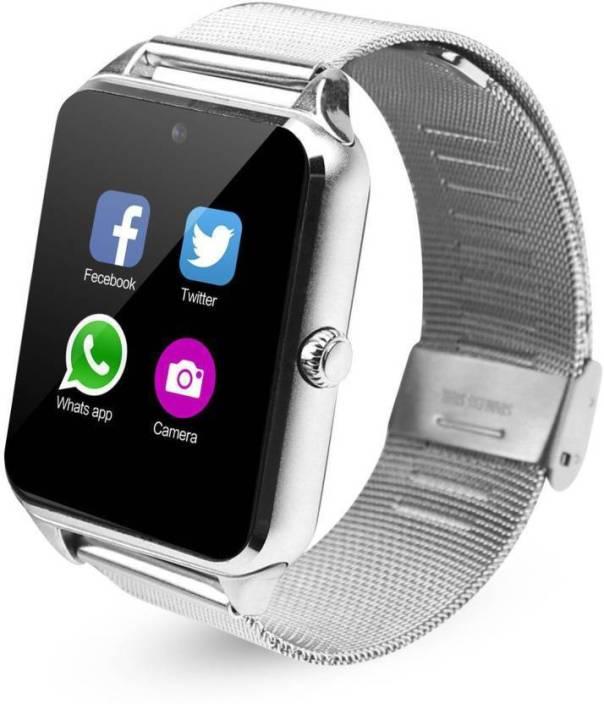 426afd65330 Padraig Smart Watch Z60 Bluetooth Smartwatch Smartwatch (White Strap Free  Size)