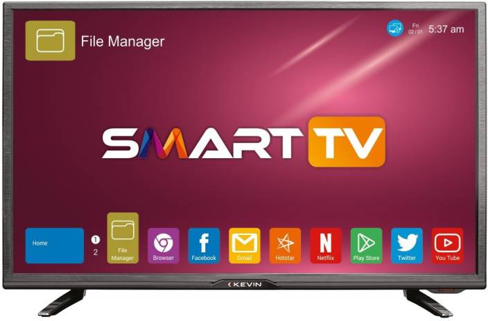 17806ff7df6 Kevin 80cm (32 inch) HD Ready LED Smart TV Online at best Prices In ...