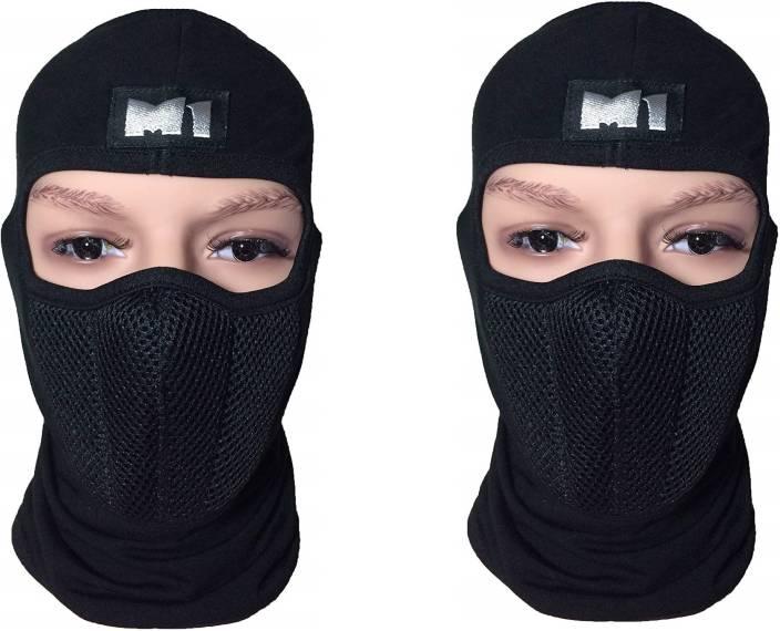 9f69c6fa350 Auto Hub Black Bike Face Mask for Men   Women Price in India - Buy ...