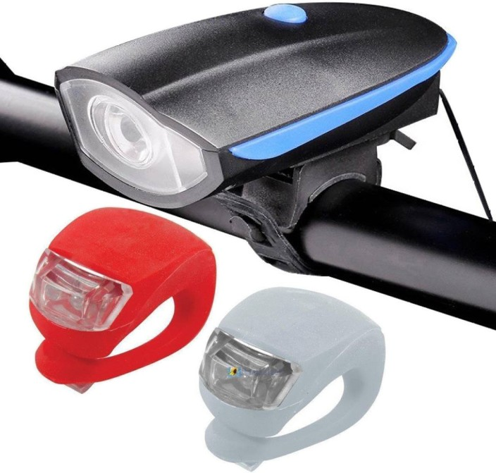 NEW BICYCLE LIGHT REAR RACK LIGHT 5 LEDS 2 MODES SUPER BRIGHT BIKES CYCLING