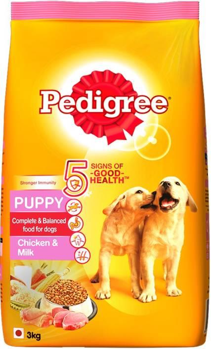 a89ed55af64 Pedigree Puppy Chicken, Milk 3 kg Dry Dog Food Price in India - Buy  Pedigree Puppy Chicken, Milk 3 kg Dry Dog Food online at Flipkart.com