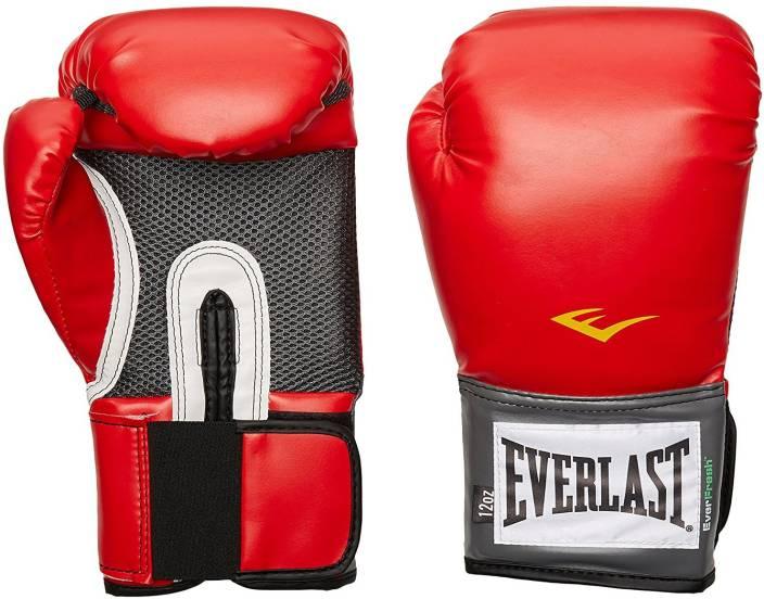 Everlast Pro Style Training 10 OZ Boxing Gloves (Free Size