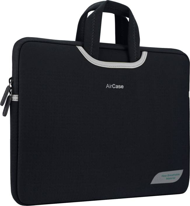 12f42656cce AirPlus 14 inch Sleeve Slip Case Carbon Black - Price in India ...