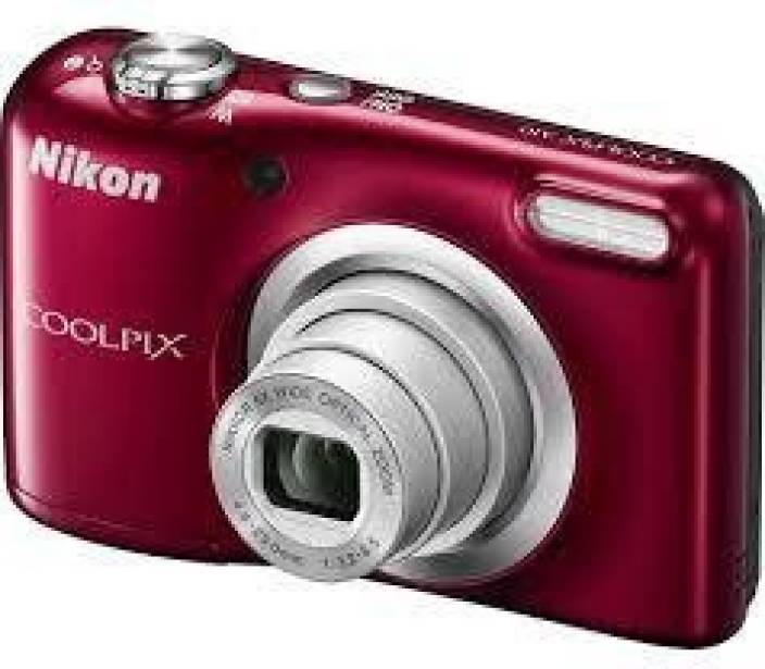 Nikon Coolpix A10RED Point and Shoot Camera