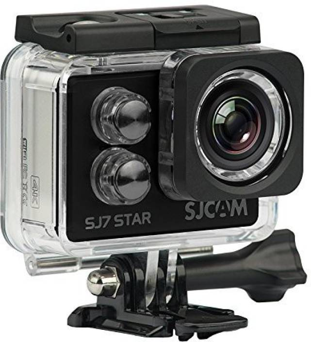 SJCAM SJ7 Star 4K Wifi Sports and Action Camera (Black 12.76 MP)