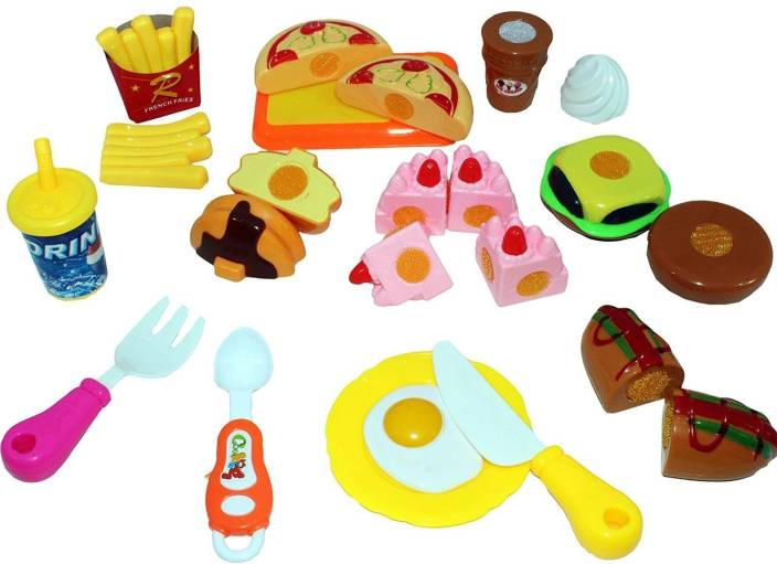Baby Tintin Play Food Set For Kids Kitchen Toys Fun Fast Doll Ortment Plastic