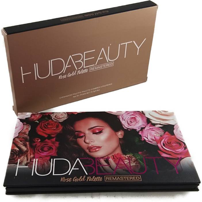 Huda Beauty Rose Gold Palette Remastered 18 G Price In India Buy