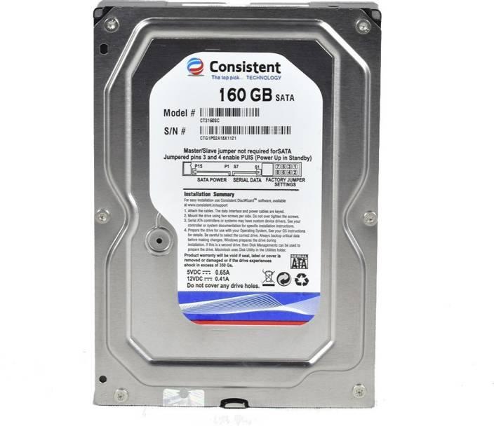 consistent 160 160 GB Desktop Internal Hard Disk Drive (160gb) - consistent : Flipkart.com