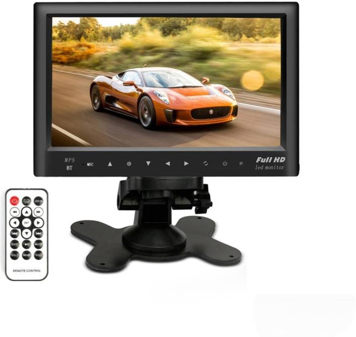Woodman Car 7 Inch Led Car Video Monitor For Dashboard With Usb