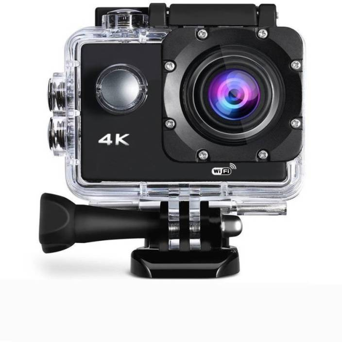 0112d6c85 tronomy 4K ACTION CAMERA 4k Wi-Fi Ultra HD Waterproof Sports Action Camera  (Black) Sports and Action Camera (Black 16 MP)