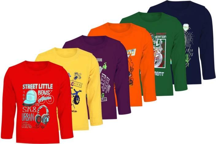 FabTag - Kiddeo Boys Printed Cotton T Shirt