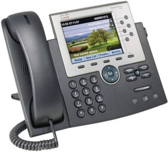Cisco Unified IP Phone 7965G Corded Landline Phone Price in