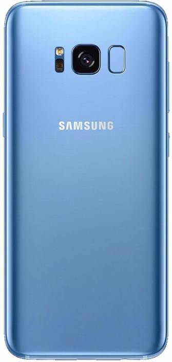 cb6238bbf32 Smart Replacement Glass Battery cover Back Panel for Samsung Galaxy S8 Back  Panel (Blue)