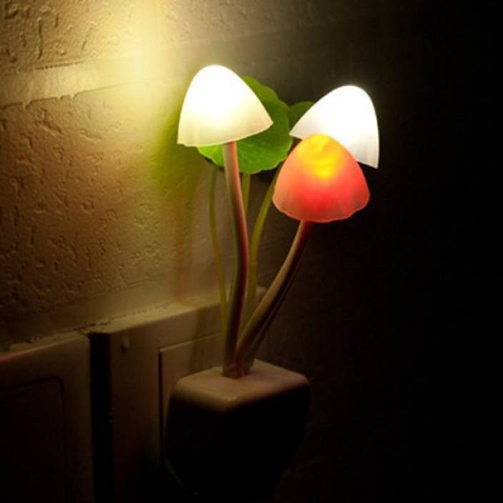699cd6506 AE   GEE Colour Changing Automatic Sensor Mushroom Night Lamp Price ...