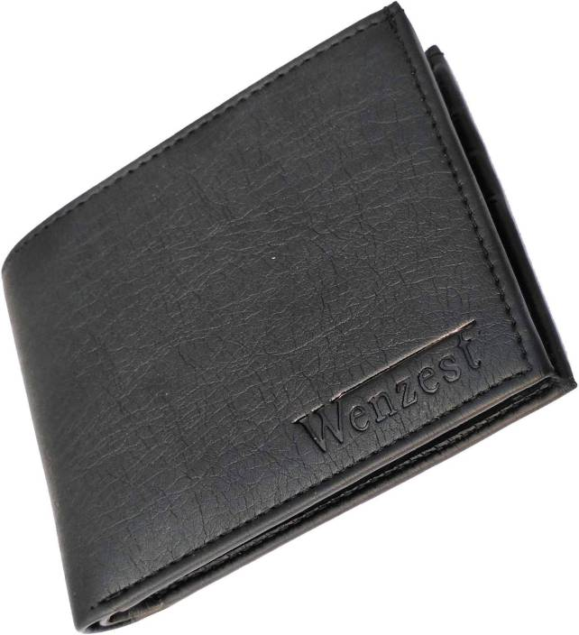 Wenzest Boys Formal Black Artificial Leather Wallet