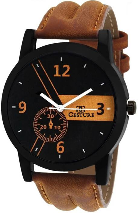 Gesture 5896-K Super Stylish Corporate Modish Watch - For Men