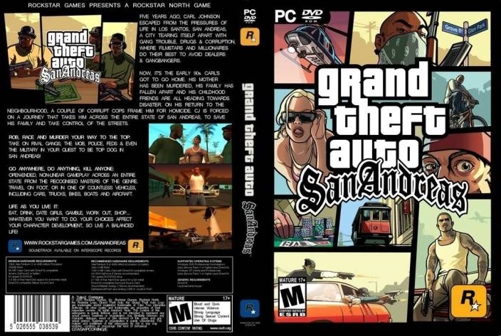 JBD GTA SANANDREAS Rockstar Games {Offline} PC Game Price in India
