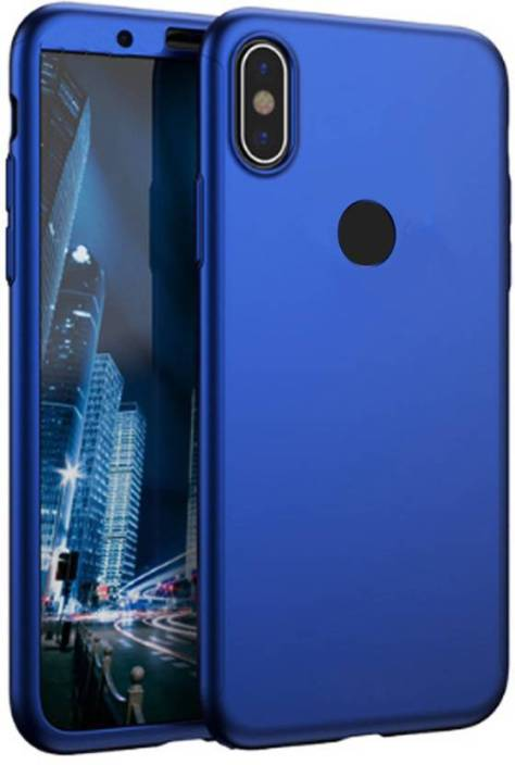 save off 4d5bb b752b DIE ZELLE Back Cover for Mi Redmi Note 5 Pro, In Blue Colour, 360 ...