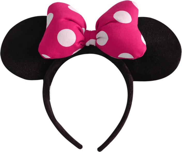 Pink glitter Sparkly cat ears slim headband hair band school play dressing up